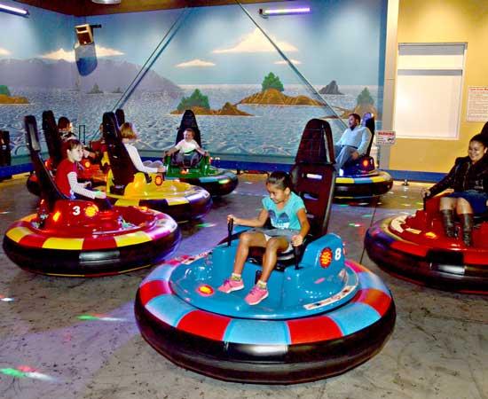 Kiddie Spin Zone Bumper Cars