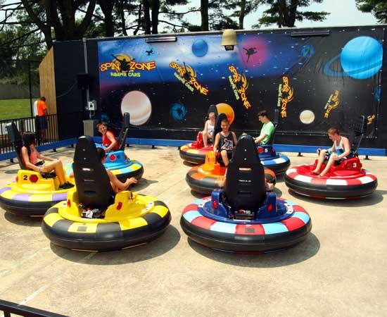 Kids Spin Zone Bumper Cars